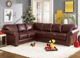 Camel Sectional Sofa Furniture Gorgeous Burgundy Leather Sofa For Living Room Idea