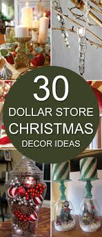 christmas decor in the home dollar store christmas decor ideas