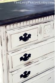 White Vs Black Bedroom Furniture Distressed Black And White Tall Dresser For The Home