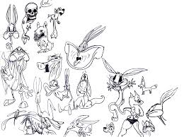 baby bugs bunny and friends coloring pages