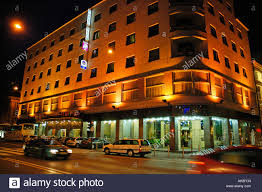 best western premier hotel slon ljubljana stock photo royalty