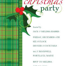 christmas party invitation online card sample for your inspiration