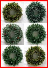 butterfly knot artificial wreaths popular pine needle