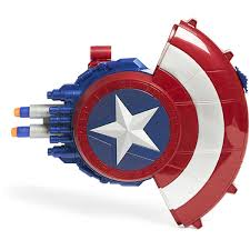 captain america shield light target marvel captain america blaster reveal shield big w