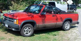1989 dodge dakota sport convertible file 89 dakota sport convertible jpg wikimedia commons