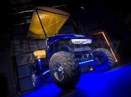 ledglow blue led golf cart underbody lights