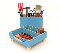 Desk Set Organizer Turquoise Desk Organizer Acrylic Desktop Organizer Blue Green