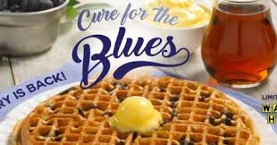 blueberry waffles return to waffle house brand