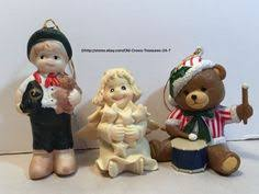 details about vintage north pole productions animated claus couple