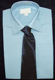 boys light blue dress shirt