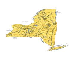 Usa Map With Rivers by Maps Of New York State Collection Of Detailed Maps Of New York