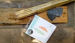 the lost art of knapping and easy diy arrow bookends a crafty mix