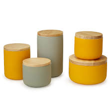 Canister For Kitchen Ceramic Canisters Pantry Organization Kitchen Storage