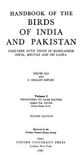 handbook of the birds of india and pakistan v 2