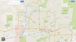 Us Desert Map Goodyear Arizona Map