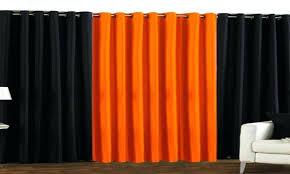 Blue And Orange Curtains Orange Curtains Pin Curtain Orange Orange