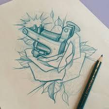 tattoo gun sketch 23 best tattoo machine images on pinterest tattoo art tattoo