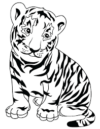 coloring page tiger paw detroit tigers coloring pages tigers coloring pages cute tiger