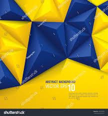 vector geometric background swedish flag concept stock vector
