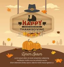 happy thanksgiving card design happy thanksgiving day on wooden
