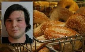 Seeking Bagel Cook Seeking Serves Cop Bagel Filled With Turkey Egg