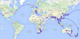 One World Route Map by Rtw Ticket Vs One Way Tickets Which One Is Better Earth Trekkers