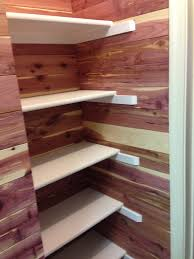 cedar planks for closets