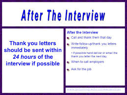 follow up email after interview template thank you email after