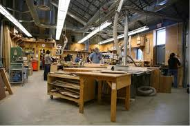 wood studio sculpture department of visual studies