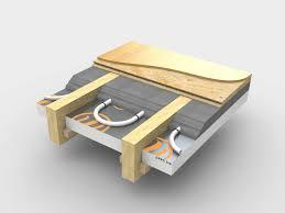 Joisted Underfloor Heating Systems - Under floor heating uk