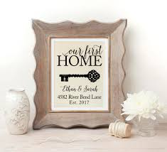 house warming presents housewarming gift our first home new home housewarming gift