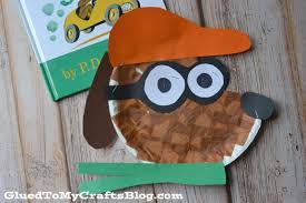 go dog go paper plate kid craft