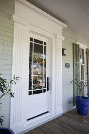 Exterior Garage Door by Modren Exterior Door Trim Ideas Dark Walnut Stain On I Like The