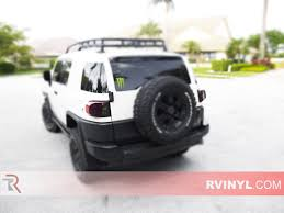 toyota cruiser 2007 rtint toyota fj cruiser 2007 2014 tail light tint film