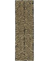 Wool Runner Rugs with Animal Print Hallway Runners Bhg Com Shop
