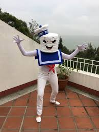 Stay Puft Marshmallow Man Costume Diy Ghostbusters U0026 Stay Puft Marshmallow Man Costume U2013 Ms Kit Lang