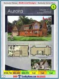 Multi Level Floor Plans Aurora Rochester Modular Home Cape Cod Multi Level Plan Price