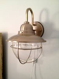 wall mounted plug in lights plug in light fixture for wall mounted lights bedroom ls sconce