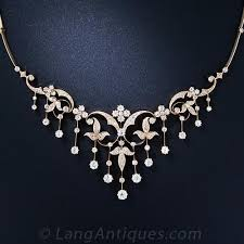 diamond necklace images photos images Antique diamond necklace jpg