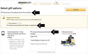 Amazon Com Gift Wrap - how to order kindle paperwhite as a gift share the pleasure of