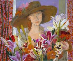 cubism flower painting alfredo roldan 1965 figurative cubism painter tutt