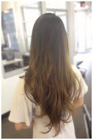 the simplest ways of v shaped haircut long hair the simplest ways