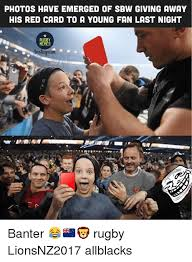 Emerged Meme - photos have emerged of sbw giving away his red card to a young fan