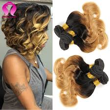 pictures of black ombre body wave curls bob hairstyles ombre bob human hair body wave 3 bundles short brazilian hair