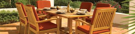 kingston collection gloster furniture teak patio furniture