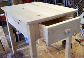 how to build a table with drawers these free end table plans include how to build a kreg drawer