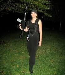 Terminator 2 Halloween Costume Homemade Sarah Connor Costume Terminator 2 Terminator