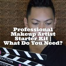 i need a makeup artist professional makeup artist starter kit what do you need