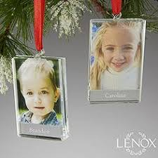 personalized photo locket ornaments lenox engraved