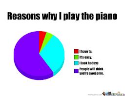 Piano Memes - reasons why i play the piano by jasminmellark meme center
